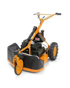 AS Motor 28/4 2T Enduro Allmäher - Geländegängiger Wiesenmäher mit 6 PS Zweitakt-Motor neues ES-Modell
