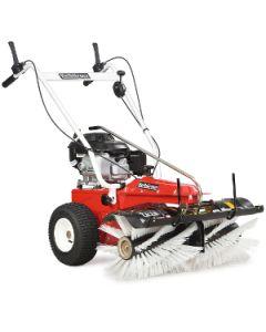 Tielbürger Kehrmaschine TK 18 (Honda Motor) Winterset inkl. Schneeschild und Schneeketten